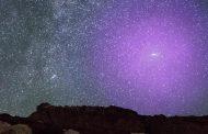 आकाश गंगाओं के टकराने की शुरुआत