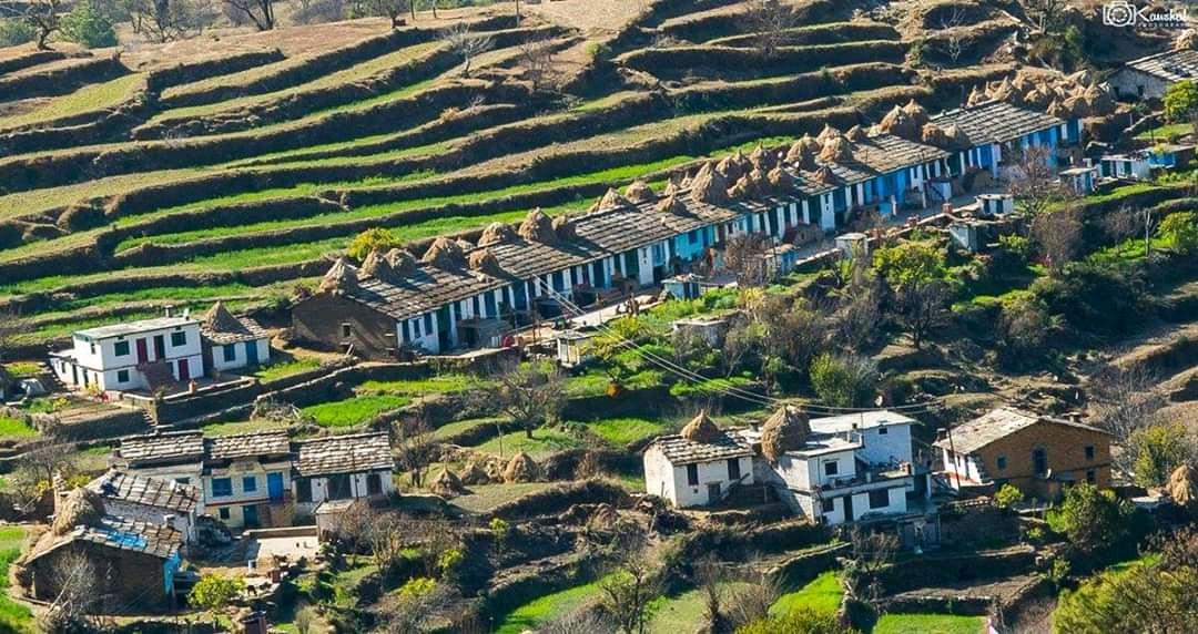 कुमाटी की बाखली (longest series of Houses)
