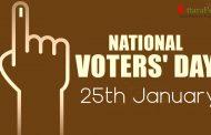 राष्ट्रीय मतदाता दिवस में जाने कई उपयोगी जानकारियाँ