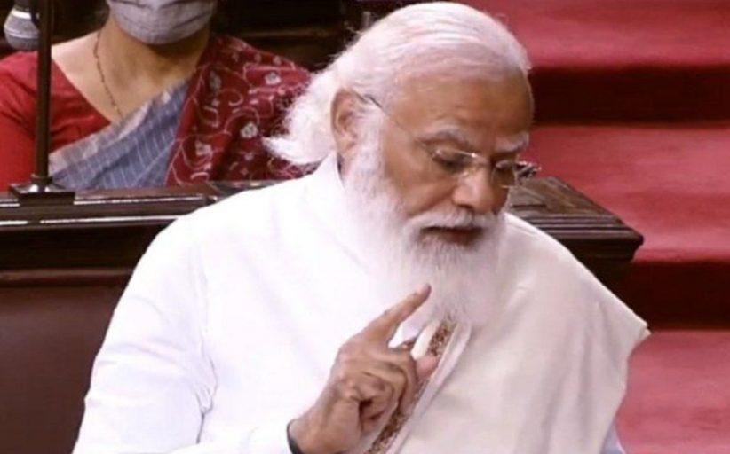 राज्य सभा में आज प्रधानमंत्री मोदी ने कहा - देश को अस्थिर करने वालों से बचें